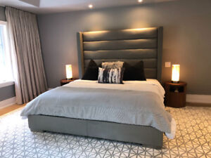 Restoration Hardware Custome Bed