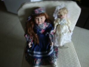 2 CUTE COLLECTOR DOLLS