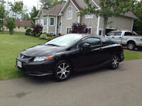 2012 Honda Civic EXL Coupe, Automatic, leather, Navigation,