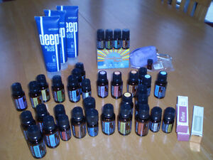 DOTERRA ESSENTIAL OILS, ROLLER BOTTLES FOR OILS AND DIFFUSER