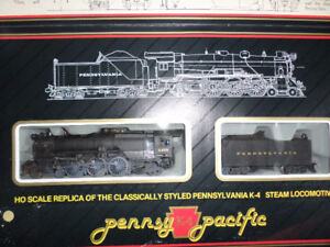 HO scale steam engine