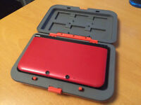 Nintendo 3DS XL Rouge avec boitier - Red with Mario case