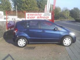 2008 58 Reg Mercedes-Benz A150 1.5 Classic SE 5 Door Blue 1.5 ENGINE NEW MOT