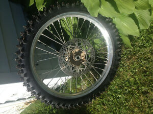 "Yamaha 21"" Excel Rim with Knobbie"