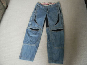 ICON RIDING JEANS SIZE 32/32 VERY COMFORTABLE HARDLY USED $70