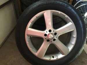 275/50/20 rims+tires  for Mercedes GL350