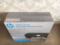 HP Envy 4520 Instant Ink Printer Scanner Copier Photo - Brand New