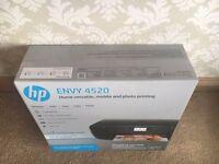 HP Envy 4520 Instant Ink Printer Scanner Copier Photo - Brand New