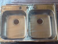 Never Been Used Stainless Steel Kitchen Sink