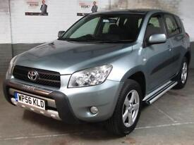 Jan 2007 TOYOTA RAV 4 2.2 D-4D 134 BHP XT4 DIESEL ESTATE 4x4 4WD AWD Htd.LEATHER