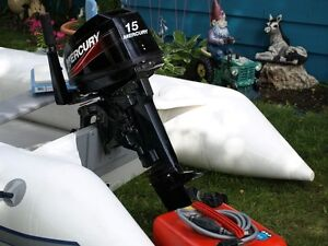 Inflatable and Motor Excellent condition Prince George British Columbia image 2