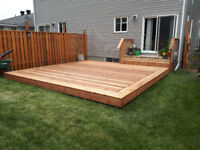 Burton's quality decks , fencing and general carpentry.