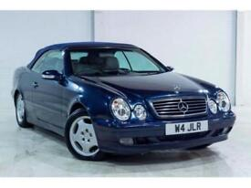 Mercedes-Benz CLK 230 DARK BLUE GREY LEATHER OUTSTANDING CAR PRIVATE REG