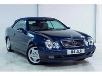 Mercedes-Benz CLK 230 DARK BLUE GREY LEATHER OUTSTANDING CAR PRIVATE REG