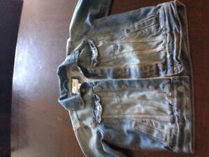 Manteau jeans 7/8 ans