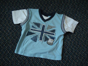Boys Size 9-12 Months Short Sleeve T-Shirt