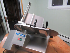Used Scharfen Stainless Steel Slicer DIGI 330T