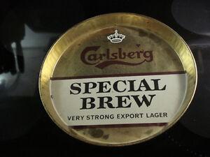 Carlsberg Special Brew Metal  Beer Tray $20