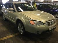 2007 Subaru Outback 2.5 SE 5dr (leather) Petrol gold Manual
