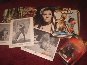 Star Wars and Star Trek items
