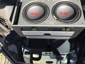 Alpine car audio equipment