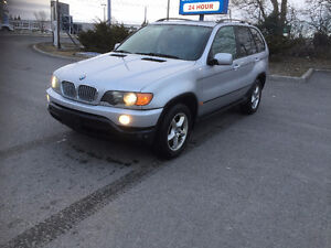 2003 BMW X5 SUV, Crossover  SAFTETY E-TEST
