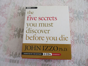 The five secrets you must discover before you die (4 cds) Izzo