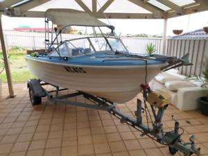 Savage envoy runabout fishing boat
