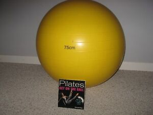 Exercise Ball and book