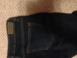 Both for $10 - size 5 jeans women's good shape