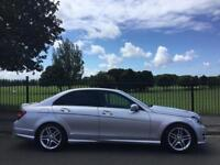 2013 MERCEDES-BENZ C CLASS 2.1 C220 CDI BLUEEFFICIENCY AMG SPORT 4D AUTO 168 BHP