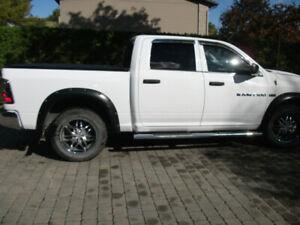 2012-DODGE RAM 1500-CREW CAB-MOTEUR 5.7 HEMI