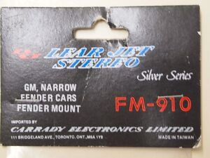 Lear Jet Antenna GM Narrow Fender Cars