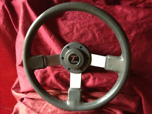 78-87 Buick Grand National-Type 3 Spoke leather Steering Wheel