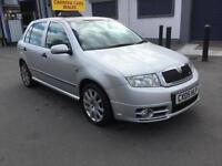 05 Skoda Fabia 1.9TD ( 130bhp ) vRS 1 mature owner low mileage