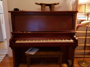 Piano available... you move it, and you can have it.