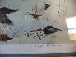 """Hand Signed and Numbered by Peter Robson """"Benmiller Inn"""" 1983 Stratford Kitchener Area image 5"""