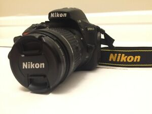 Nikon D5600 DSLR+18-55 VR II Lens (Like New 2539 actuations)