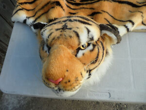 Decorative Tiger Skin (artificial) Rug $30
