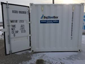 Steel storage shipping unit