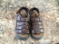 LEATHER CHEROKEE SANDALS TODDLER SIZE 9