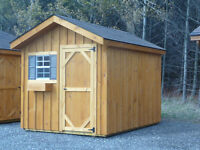 8x10' Garden Gable Shed