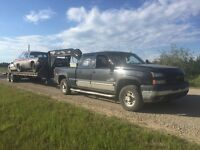 Free removal of scrap vehicles and farm cleanups