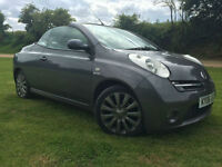 2006 Nissan Micra C+C 1.6 SPORT CONVERTIBLE LOW MILAGE NEW MOT AND SERVICE