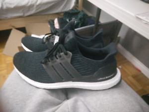 Adidas Ultra Boost 3.0 Core Black Size 12