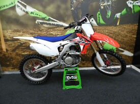 Honda CRF450 Motocross Bike Talon wheels Clean example