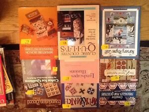 QUILTING BOOKS/MAGs/Doll Clothes/Stuffed toys/Crafts West Island Greater Montréal image 4