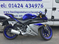 Yamaha YZF-R125 Learner Legal Sports Bike / Nationwide Delivery / Finance