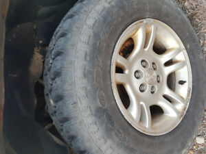 6 bolt Rims and 245/75/16 tires for sale