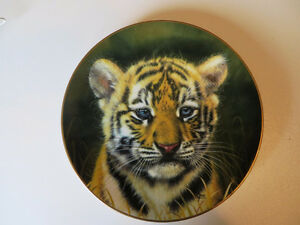 """Tiger Cub"" plate from Princeton Gallery"
